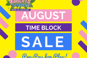August Time Block Sale