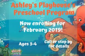 Preschool Now Enrolling!