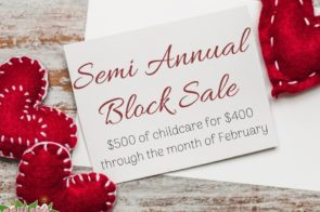 Semi Annual Block Sale