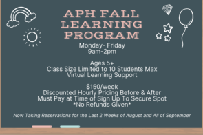 APH Fall Learning