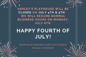 Closed July 4th & July 5th