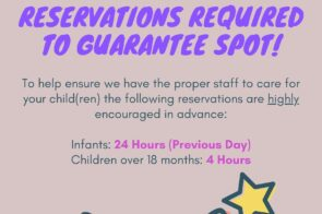 Reservations Needed